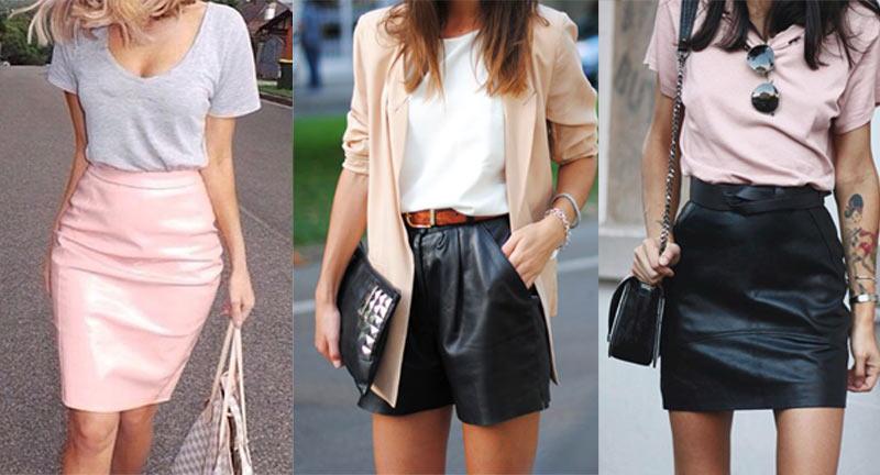 Roupas de Couro: A Moda que Será Sempre Tendência! (Foto: internet)
